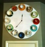 Teacup Clock