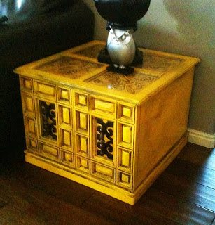 yellow-end-table