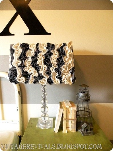 3 Lamp Shade Tutorials, and Savings Out The Wazoo. * Vintage Revivals