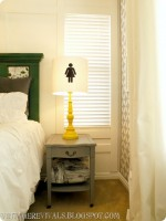 The Epic Room Makeover Nightstands and Lamps and How To Make A Space YOURS!