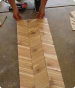 How To Build Herringbone/Chevron Shutters Part 1