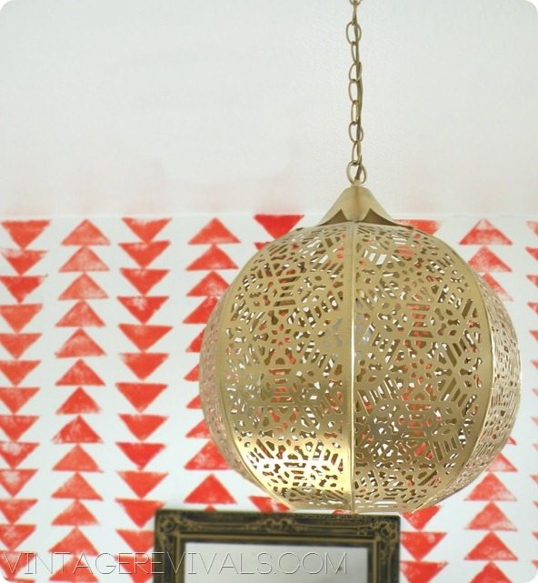 Vintage revivals candle lantern to chandelier in 3 easy steps - Build a chandelier ...