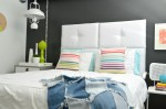 Tufted White Headboard For Only $69.00