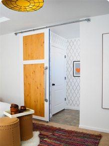 & How To Build A SIMPLE Sliding Barn Door \u2022 Vintage Revivals Pezcame.Com