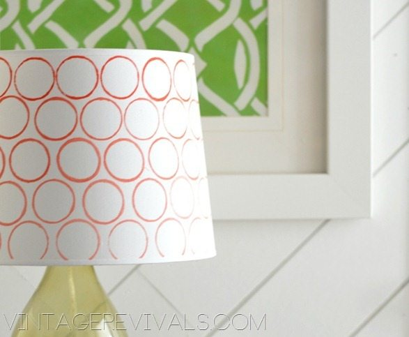 Toilet Paper Roll Stamped Lampshade[3]