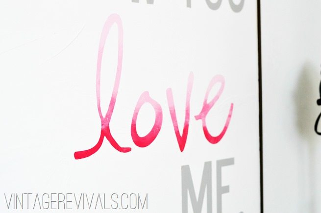 Ombre Wall Art vintagerevivals[2]