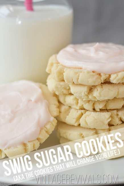 Swig Sugar Cookie Recipe (LITERALLY The Best Cookie Known To Man!!) • Vintage Revivals