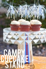 Campy Cupcake Stand