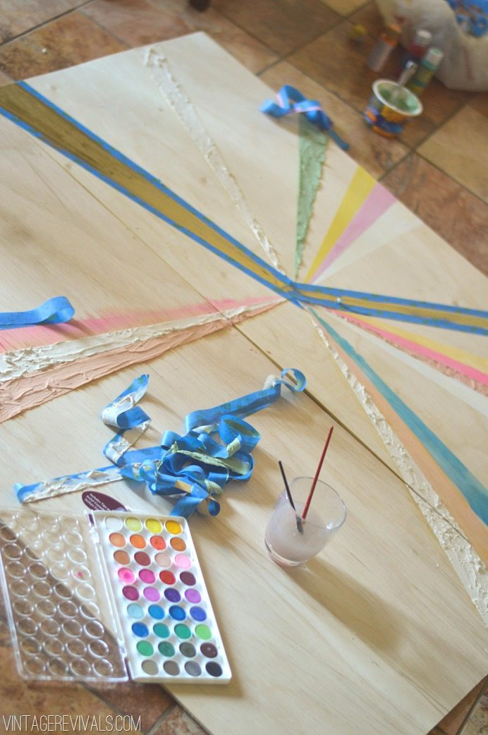 Plywood Pinwheel Art Tutorial vintagerevivals.com-8