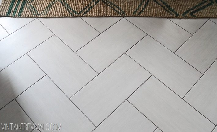 the kitchen flooring saga part 2 of 2 and the reveal! - vintage