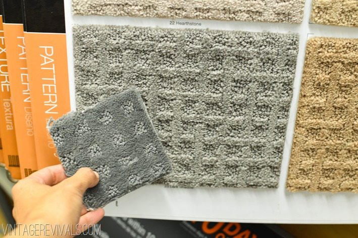 Wall To Wall Carpet Home Depot reno update: we're carpet shopping ya'll - vintage revivals