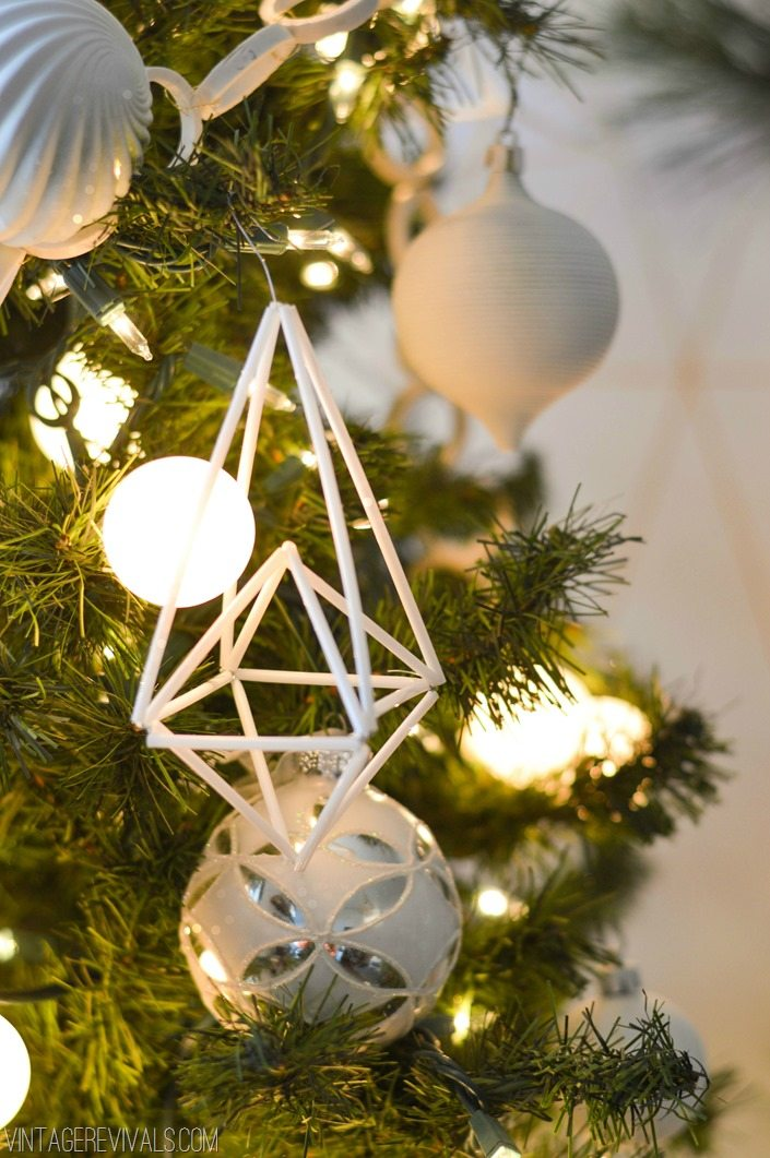 DIY Himmeli Geometric Ornament