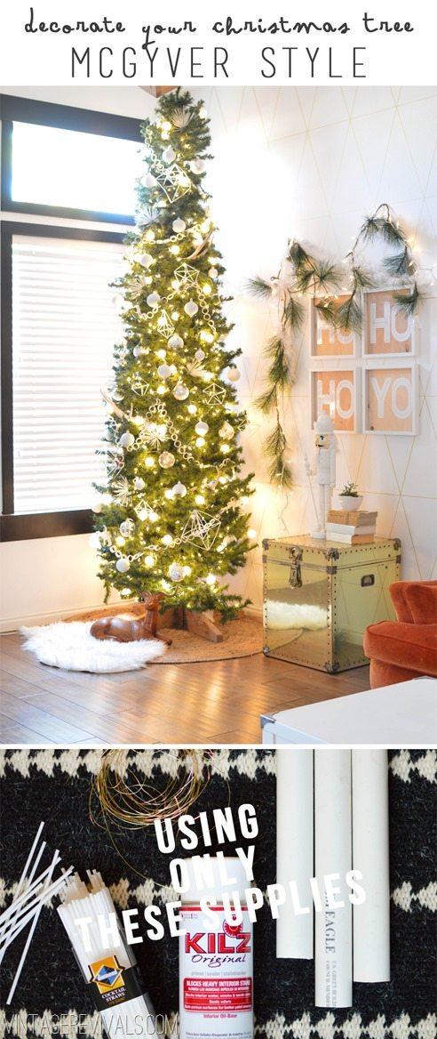 DIY White Christmas