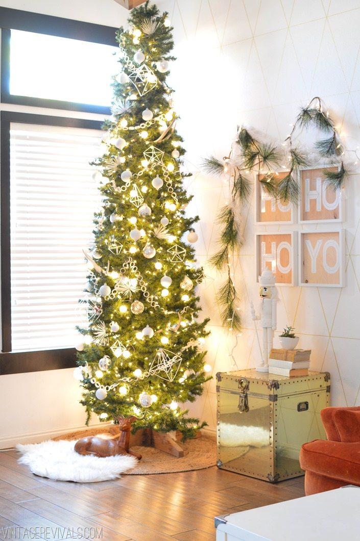 DIY White Christmas Decorations vintagerevivals.com-2-3