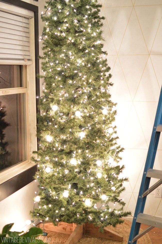 White Diy Christmas Vintage Revivals