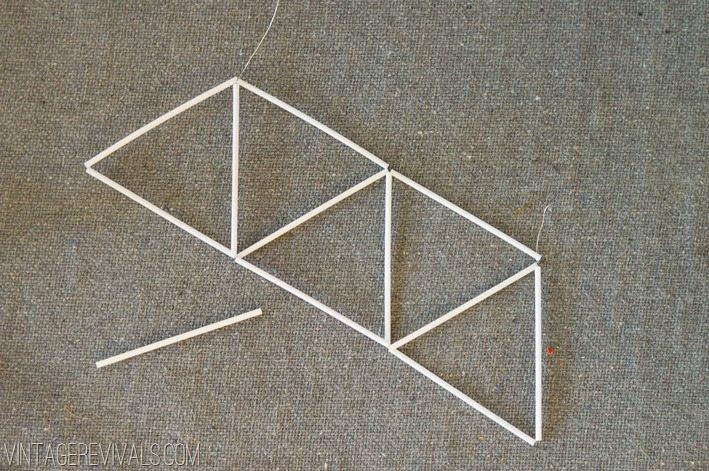 Geometric Himmeli Ornament Tutorial vintagerevivals.com-12