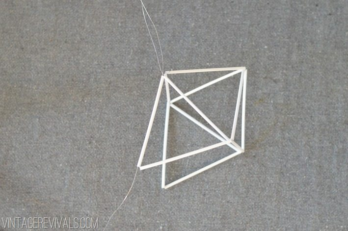 Geometric Himmeli Ornament Tutorial vintagerevivals.com-15