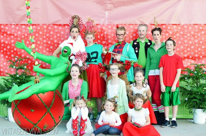 How The Grinch Stole Christmas Who Family Christmas Card vintagrevivals.com