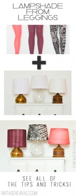Turn Leggings Into A Lampshade!