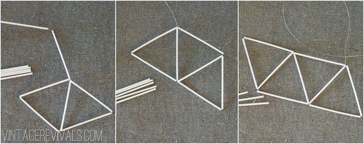 How To Make Geometric Ornaments