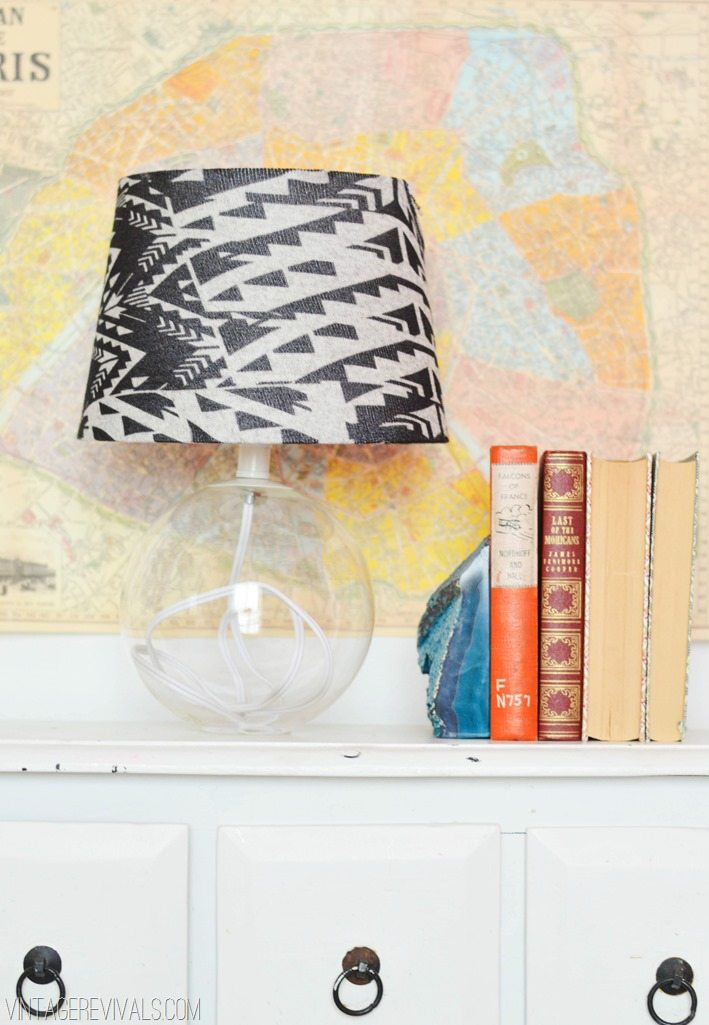 Lampshade Made From Leggings
