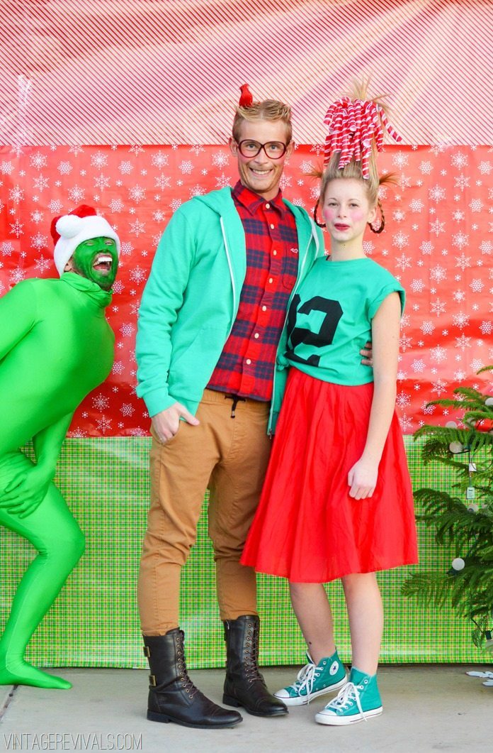 How The Grinch Stole Christmas Christmas Photo 2013 Vintage Revivals
