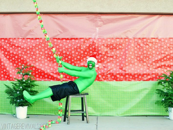 vintagerevivals.com Who Christmas Grinch Wrecking Ball