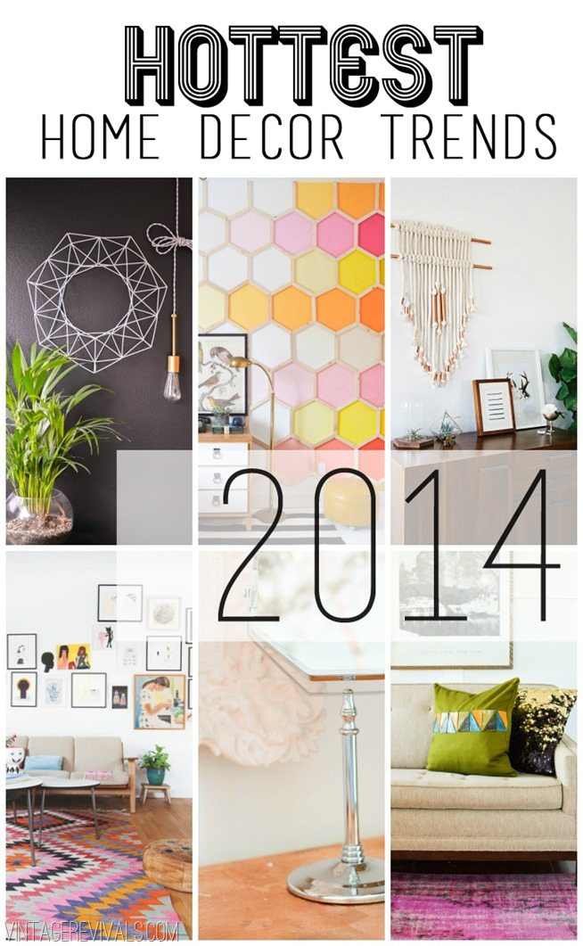 Home Decor Trend Predictions 2014 - Vintage Revivals