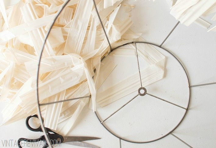 How to make a Skeleton (wire) Lampshade