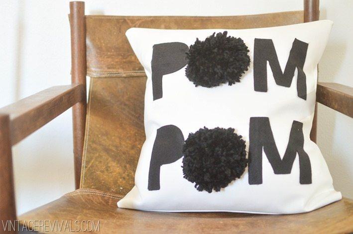 Pom Pom Pillow-5