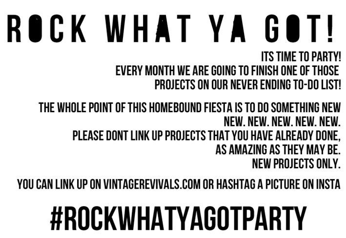 Rock What Ya Got Party