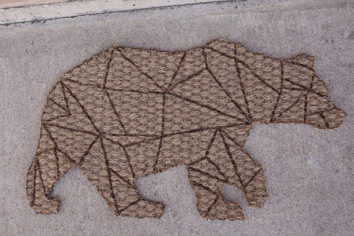 Geometric bearGeometric Bear Drawing