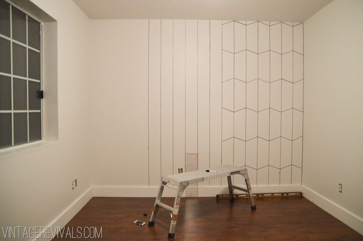DIY Faux Wallpaper with a Sharpie-5