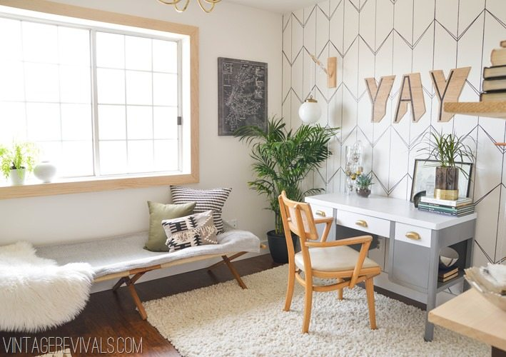 Home Office Makeover Ideas Vintagerevivals 2