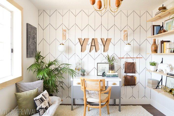 Home Office Makeover Ideas vintagerevivals.com-3