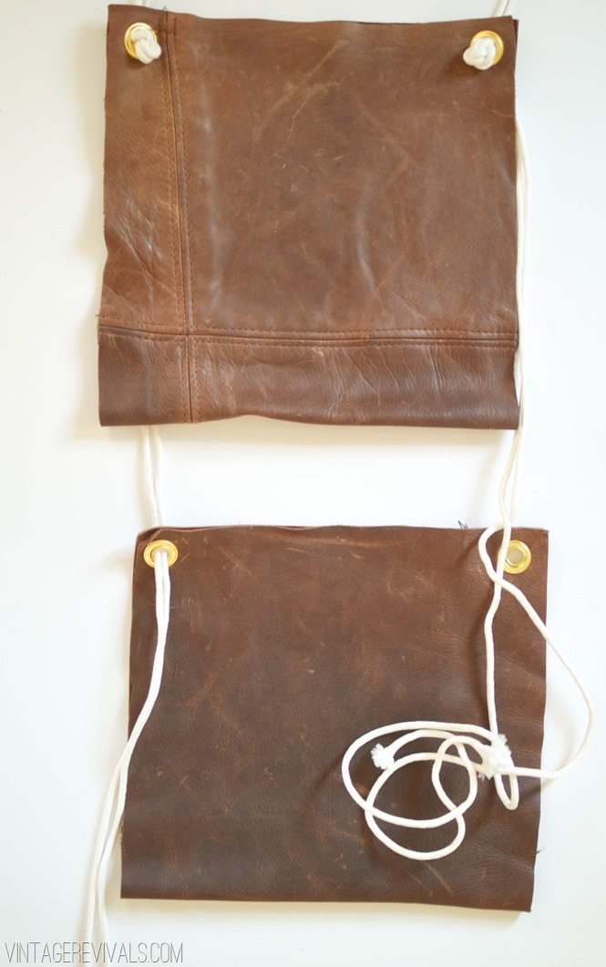 Hanging Leather Magazine Rack vintagerevivals.com-12