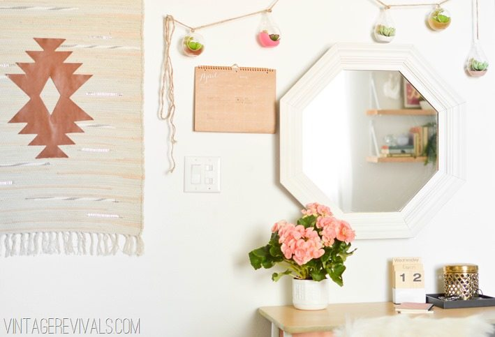 Simple DIY Wall Details vintagerevivals.com