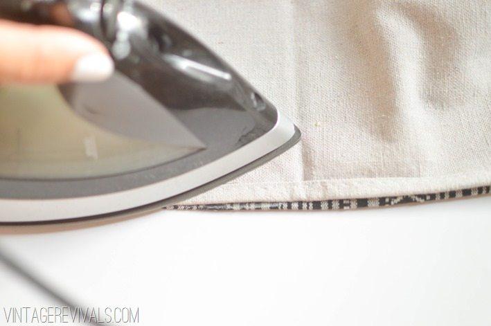 DIY Floor Cloth-7