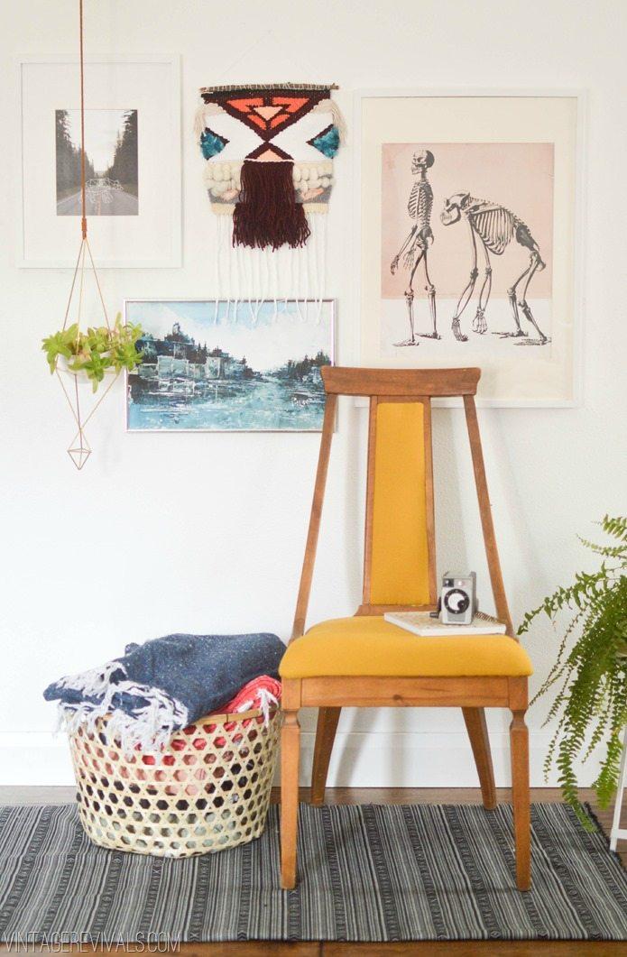 DIY Tribal Floor Cloth