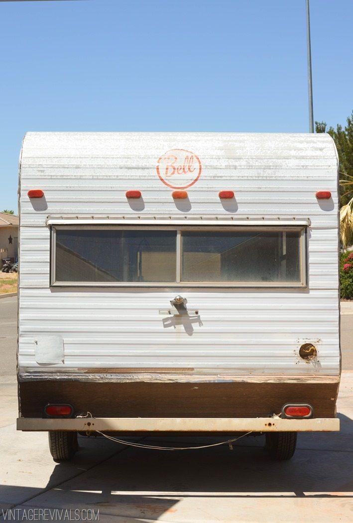 Meet The Nugget A Vintage Camper Trailer Makeover Series