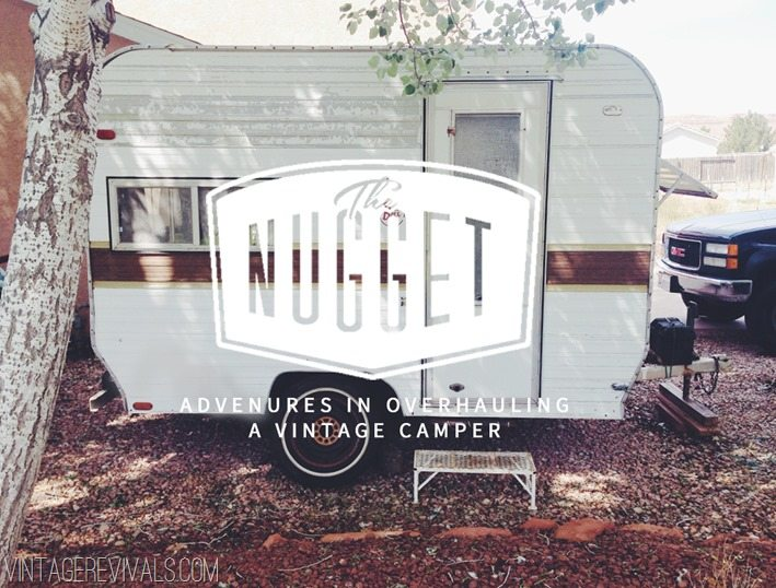 The Nugget 1973 Bell Camper Trailer Overhaul