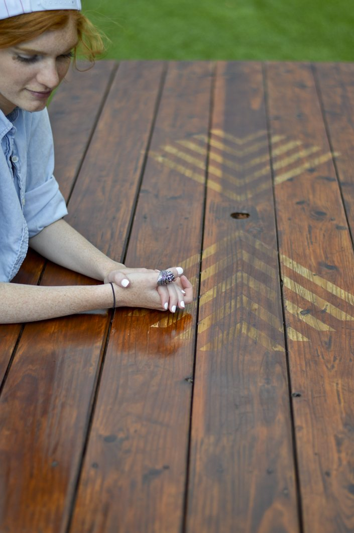Table_makeover_aztec_1 Picnic_table_pattern_1