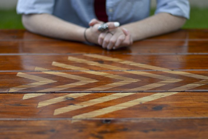 Picnic Table Makeover Vintage Revivals - How to stain a picnic table