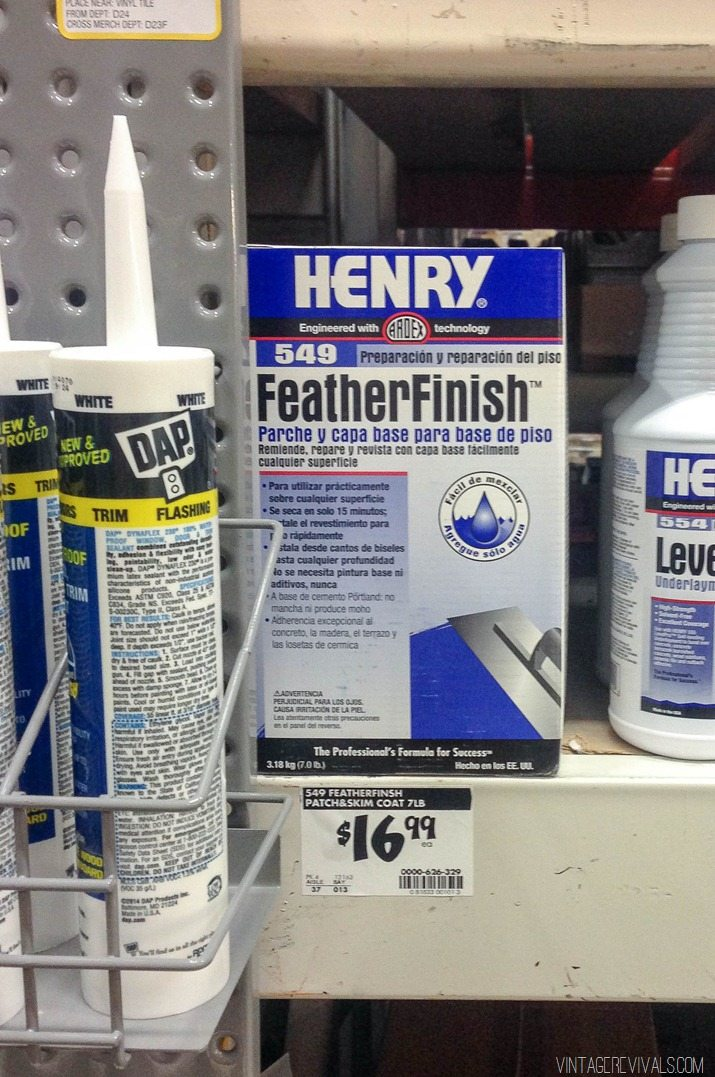 Ardex Feather Finish Henry Feather Finish