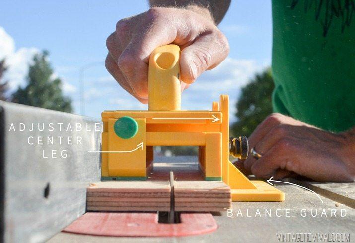 DIY Stacked Plywood Bench vintagerevivals.com-14