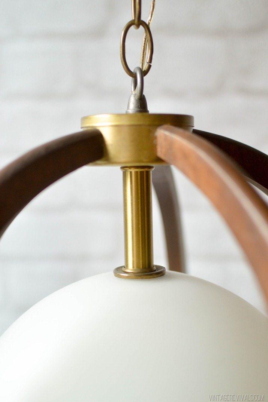 Mid Century Hanging Light-3