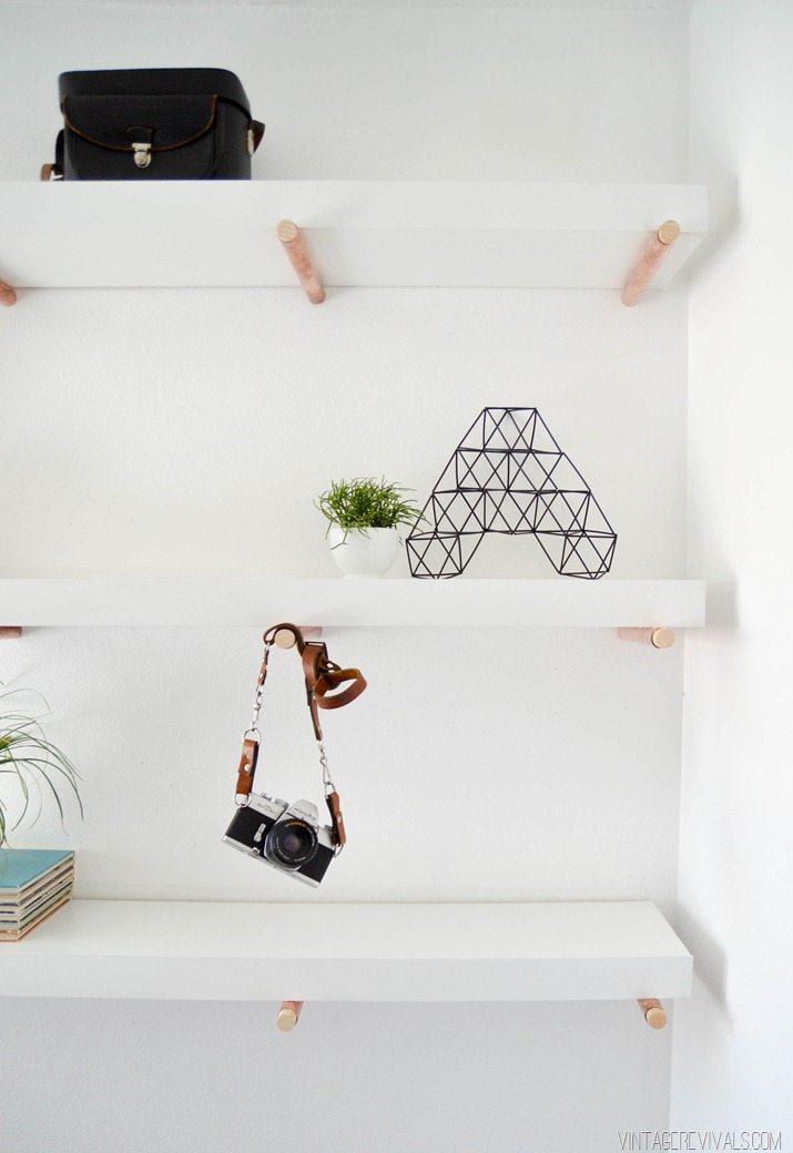 DIY Copper Peg Shelves vintagerevivals.com-8