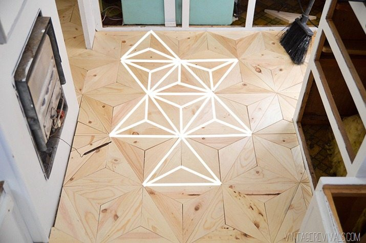 Comthe Wooden Floor : fun when people see it to find out what shape they see the star the ...