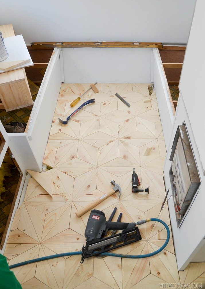 Diy Hardwood Floor ireneg 001 web Diy Geometric Wood Floor Vintagerevivalscom 26