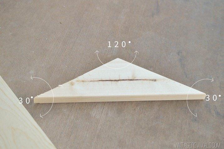 DIY Geometric Wood Floor vintagerevivals.com-7
